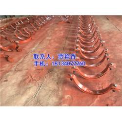 营口锅炉附件立管轴向限位管夹XD5.530,海润