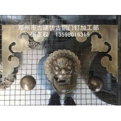 河南热卖铜兽头拉手供应——铜兽头拉手价钱