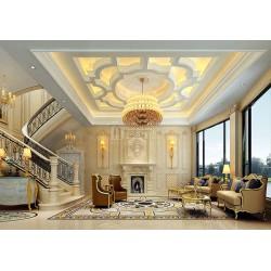 中式别墅设计_别墅设计_超群国际别墅装饰(