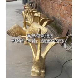 动物铜雕_【华儿街牛动物铜雕铸造】_山东动