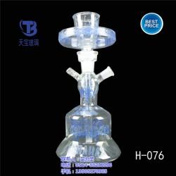 玻璃水烟壶,玻璃水烟壶生产,天宝玻璃厂(优