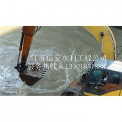 威海市清淤工程公司水下清淤船