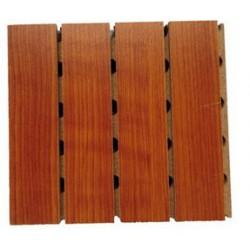 青岛影院墙面阻燃穿孔木质吸音板家庭影院立体扩散板