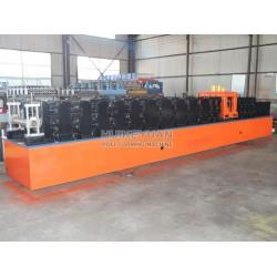 泊头汇科苑压瓦机生产前切飞锯C型钢机设备