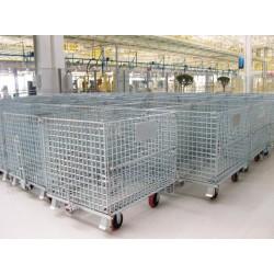 货架仓储笼 可折叠仓储笼供应厂家 佛山工厂批发商
