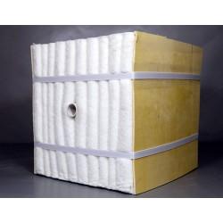 罩式炉炉衬层专用陶瓷纤维模块保温层施工队
