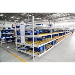 苏州鑫辉滑移式货架实力生产厂家 流利条货架生产批发