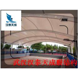 松滋汽车棚张拉膜 景区景观膜结构 松滋充电桩膜结构汽车棚加工