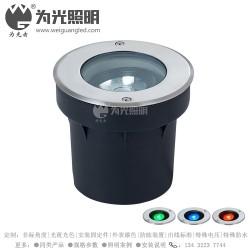 COB可调节角度地埋灯 IP68防水倾斜发光