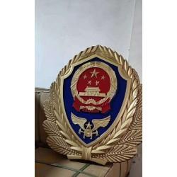 铸铝烤漆消防徽制作国徽生产厂家