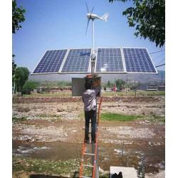 厂家批发晶天太阳能板水文监控系统离网260W单晶太阳能光伏板