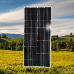 广东晶天太阳能光伏板太阳能监控摄像头150W光伏组件