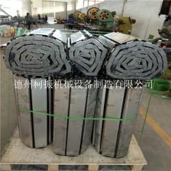 厂家生产镀锌扣板链 槽式重型物料输送链板