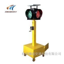 路口应急信号灯太阳能交通信号灯移动红绿灯厂家