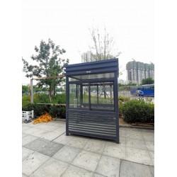 泰安新泰盈家不同材质移动岗亭的优缺点