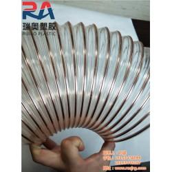 pu钢丝通风管价格 瑞奥塑胶软管 九江pu钢丝