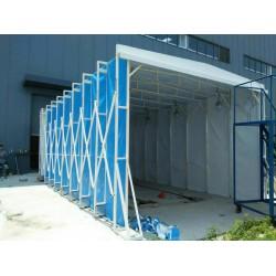 河北伸缩式移动式电动式折叠式多用途喷漆房的结构和特点